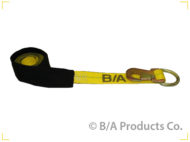 1-3/4 Inch Strap with Flat Snap Hook, Large D Ring & Cordura Sleeve