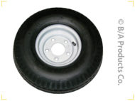 Replacement Steel Wheels & Dolly Tires