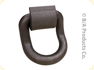 1 Inch Forged Curved Steel D-Ring