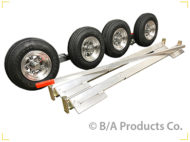 Aluminum SLX Dolly w/4.80x8 Aluminum Wheels