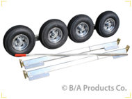 Aluminum SLX Dolly with 5.70x8 Aluminum Wheels